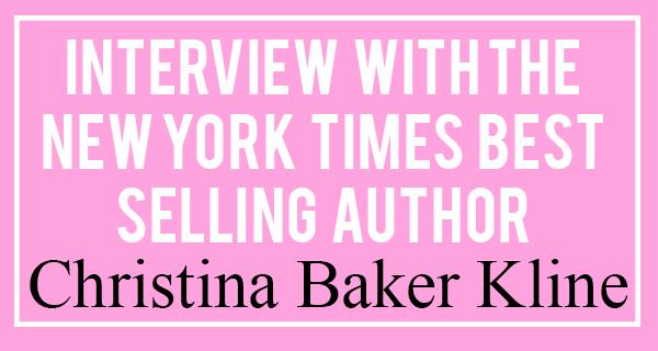 Christina Baker Kline Interview | Popcosmo