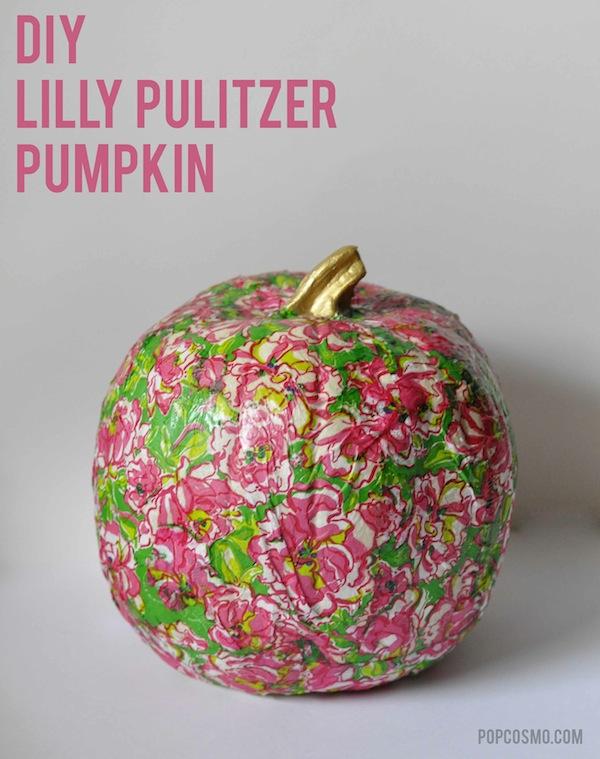 Lilly Pulitzer Pumpkin