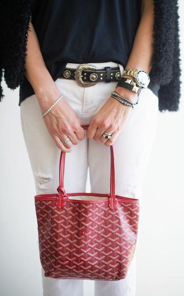 Goyard purse | popcosmo