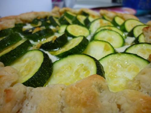 Zucchini Ricotta Crostada | Popcosmo