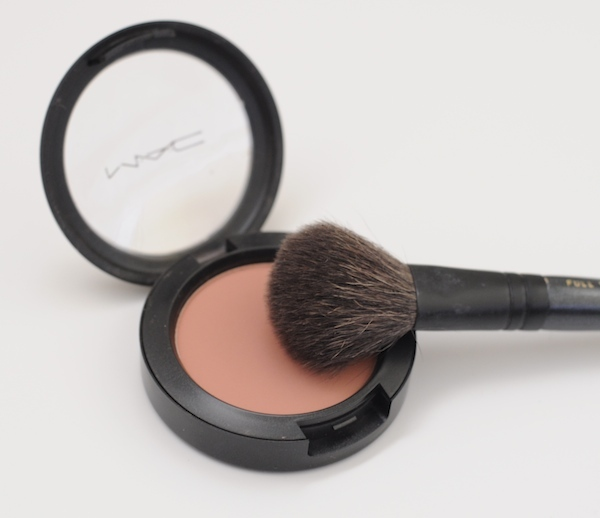 morning routine | mac blush
