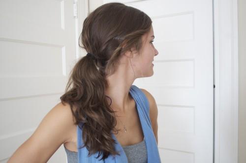 adele ponytail