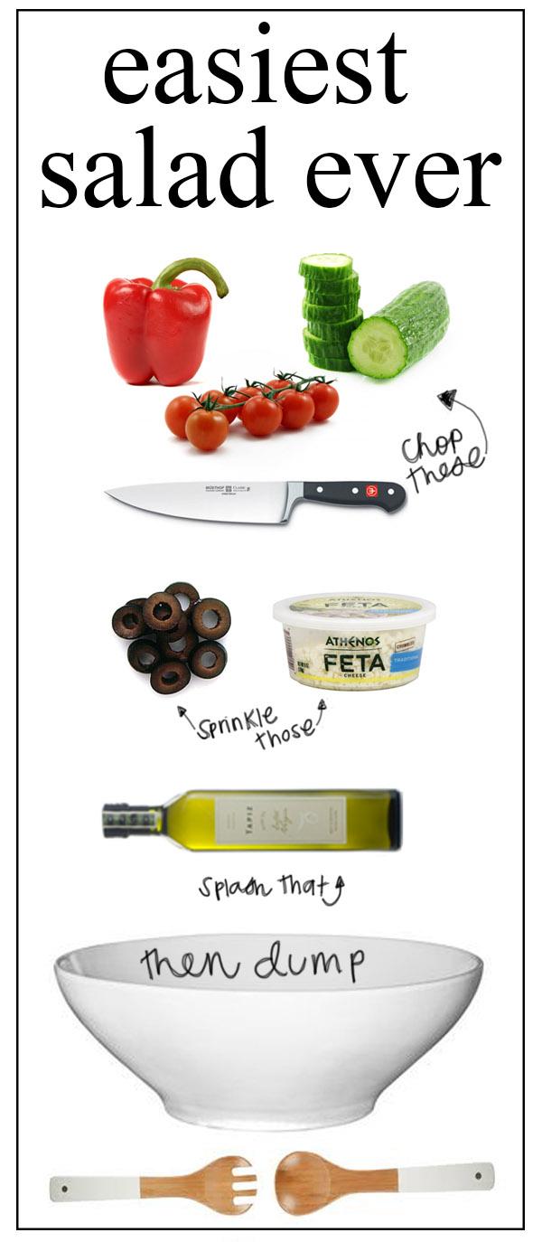 easiest salad