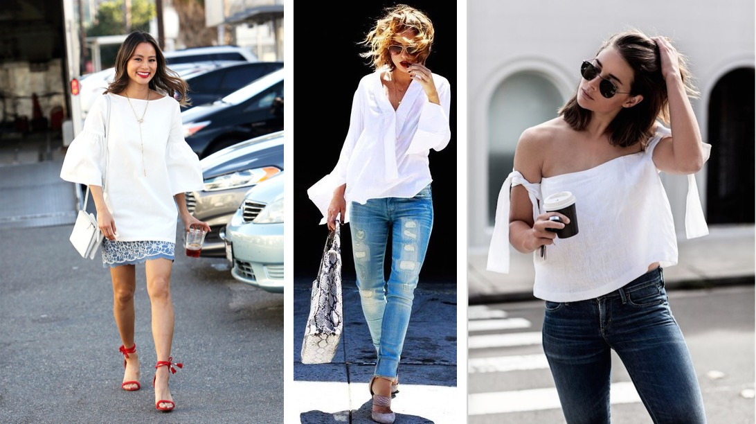 White Shirts for summer