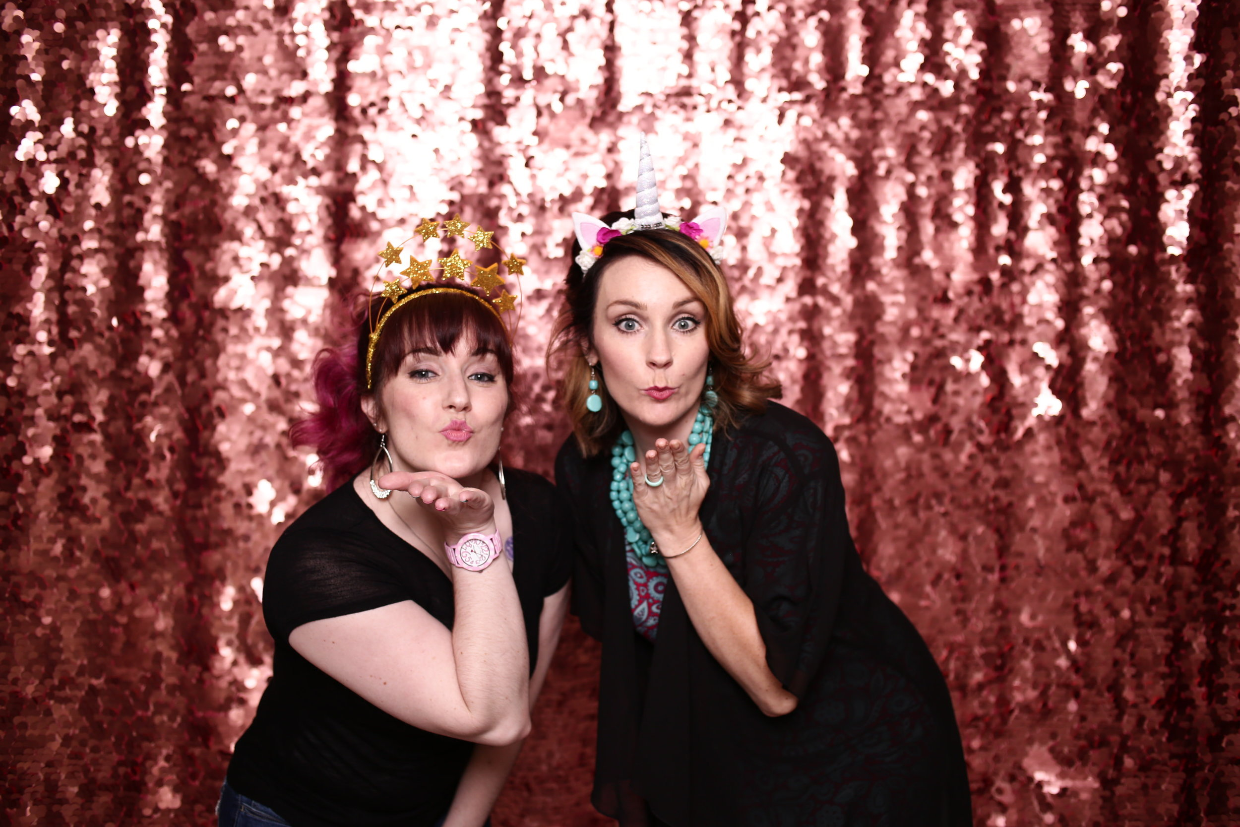 Wyoming Studio Photobooth Cheyenne Laramie Photobooth Rental Photo booth wedding party event colorado fort collins best pretty rose gold backdrop sequin large pink2.jpg