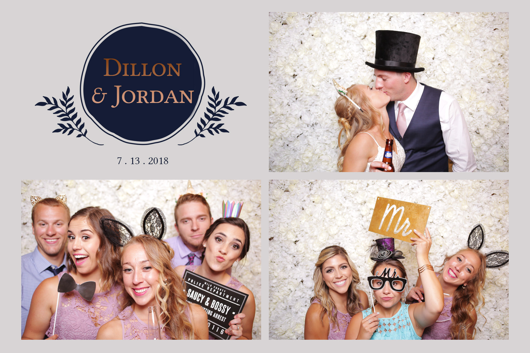 Photobooth Wedding Rental Jordan White Dillon Lawrence Barn at Racoon Creek Littleton Colorado Liz Osban photography photo booth weddings booth instant silver sequin backdrop.jpg