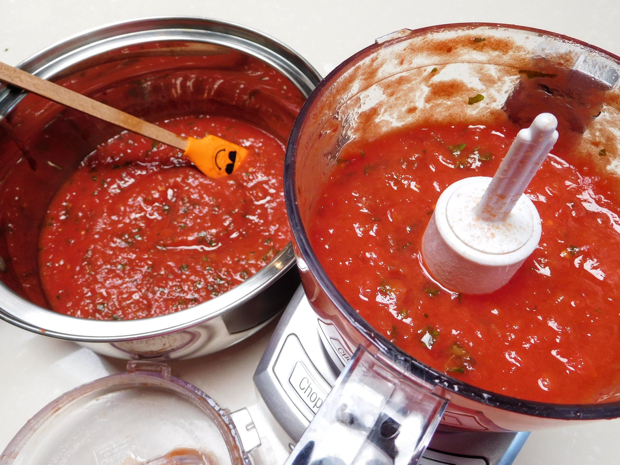 tomato basil reduction in cuisinart.JPG