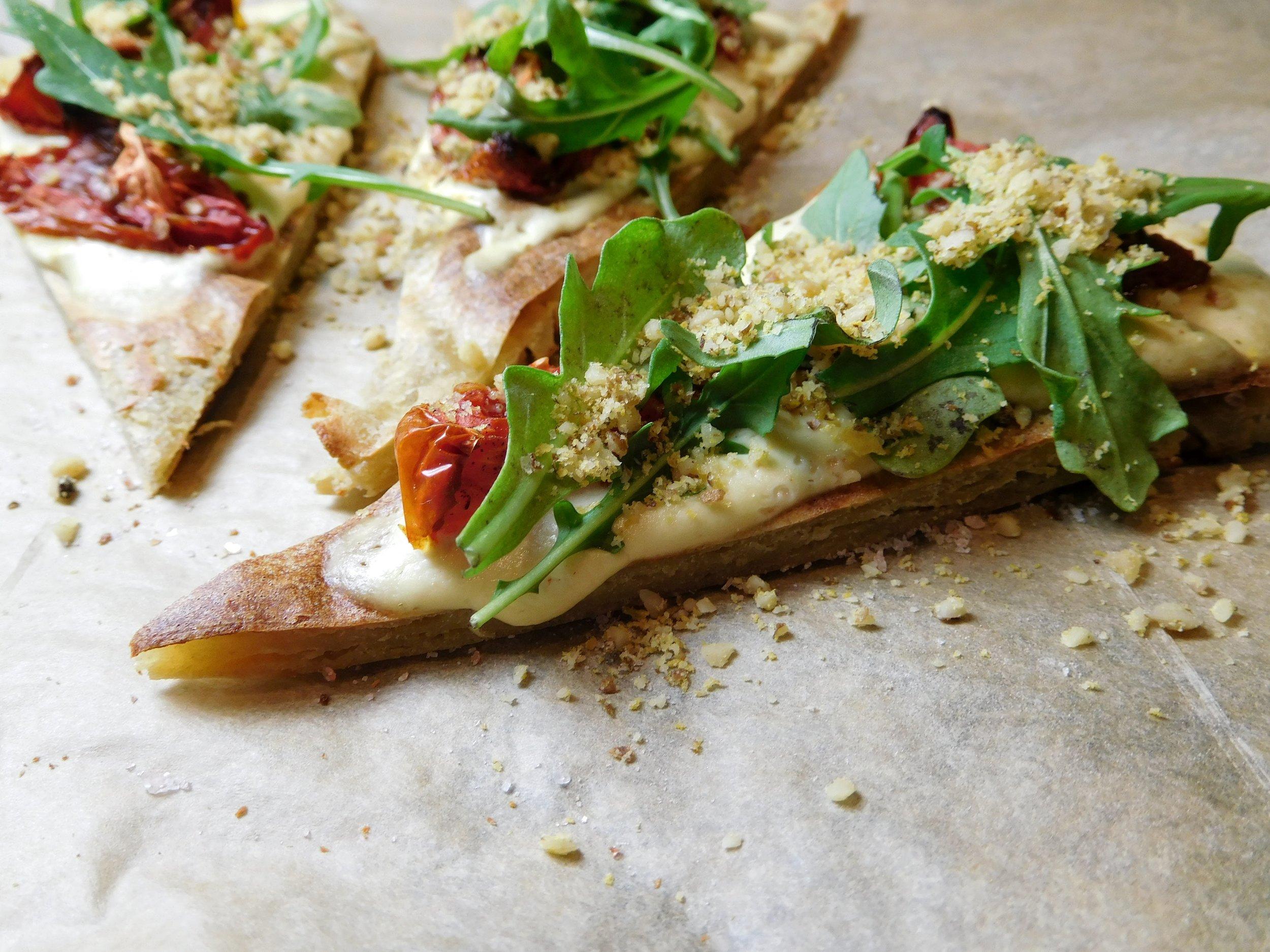 quinoa pizza side view.JPG