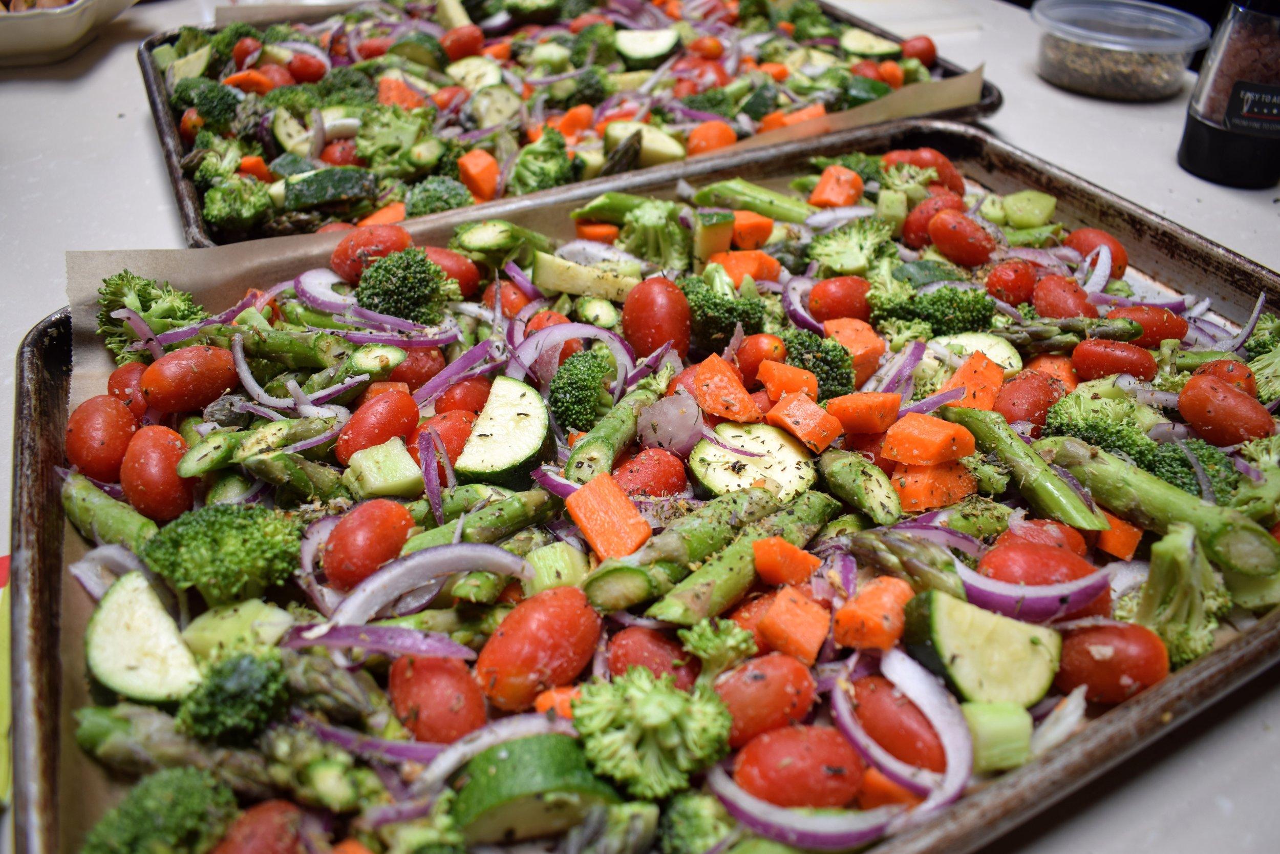 Primavera Roasted Vegetables