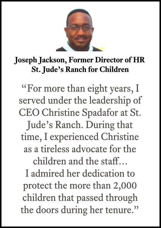 St Jude's Ranch - CEO Christine Spadafor Recommendation - Jackson.png