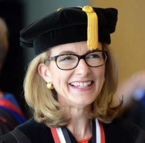 2015 - Christine Spadafor at graduation - 300px.jpg