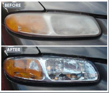 Oxidized Headlights Houston