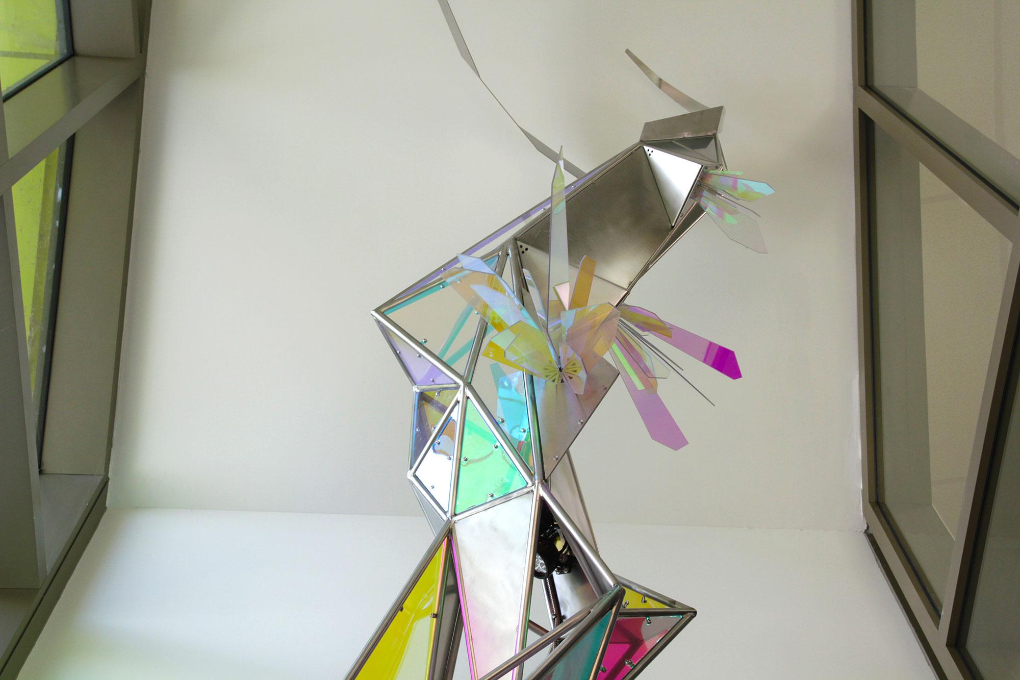 Éclosion cristallographique