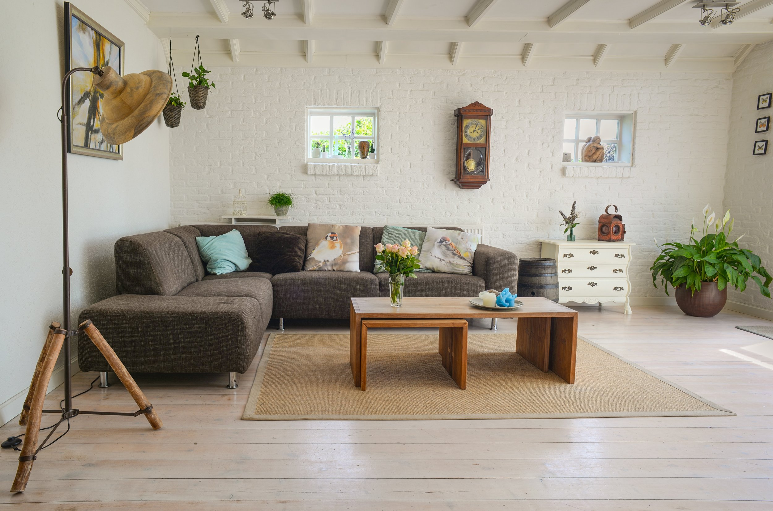 With a clean airy feel,this living space hones  Open Concept  yet still homey and cozy.
