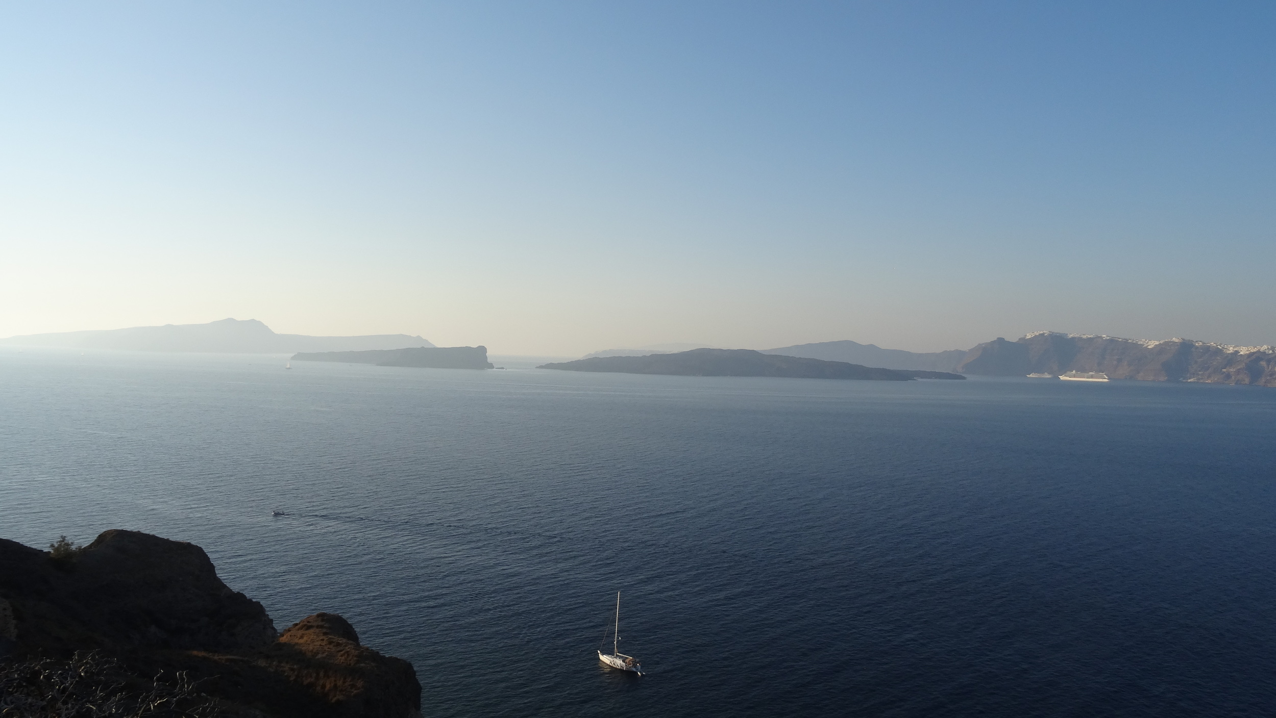 The Aegean sea. As I gazed over its grandeur, you could see how the rulers of the Greek, Ottoman, and Roman empires might have felt.
