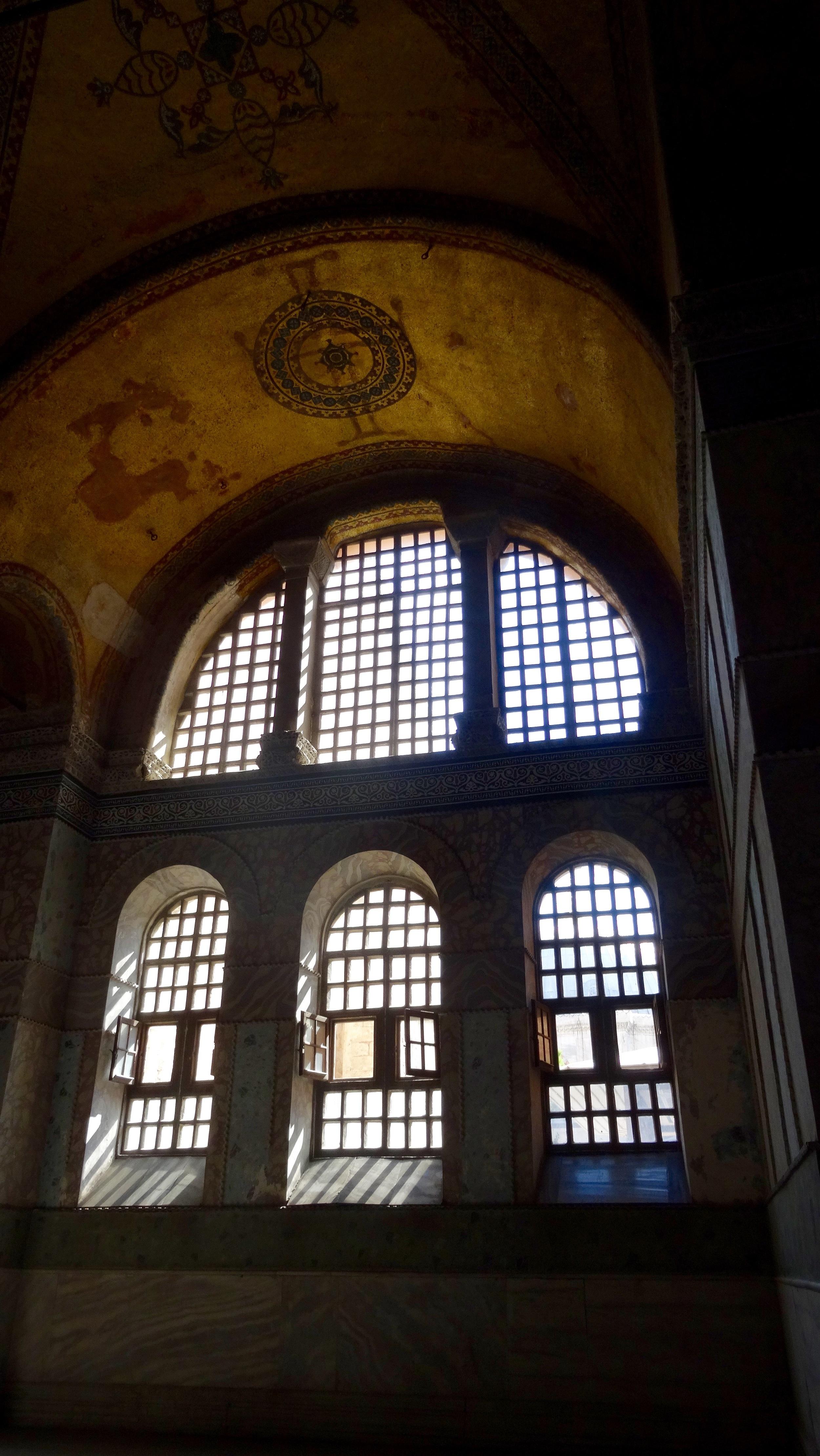 Window. Hagia Sophia (Ayasofya) Museum / Church