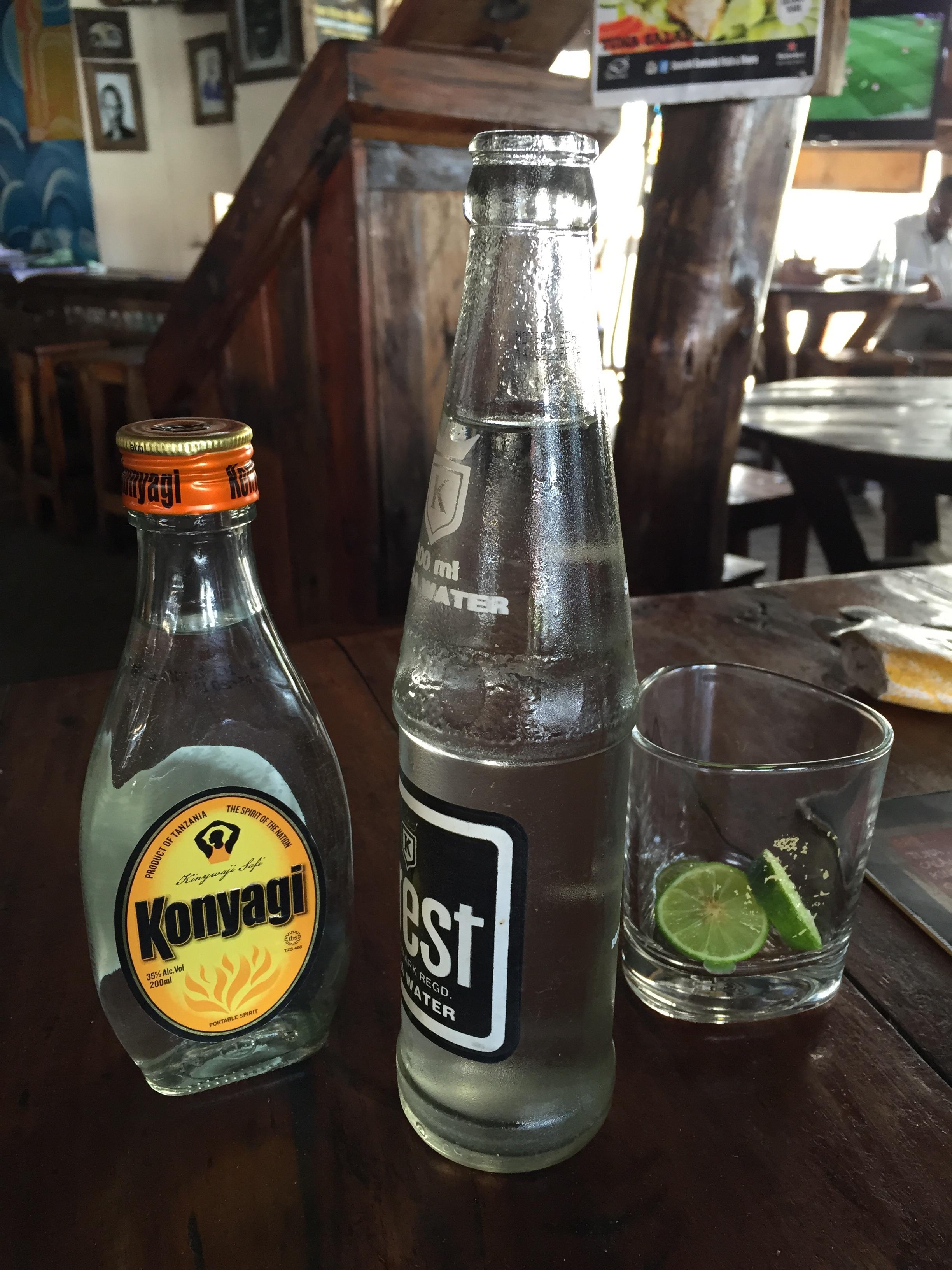 My new favorite drink. It taste a lot like vodka.