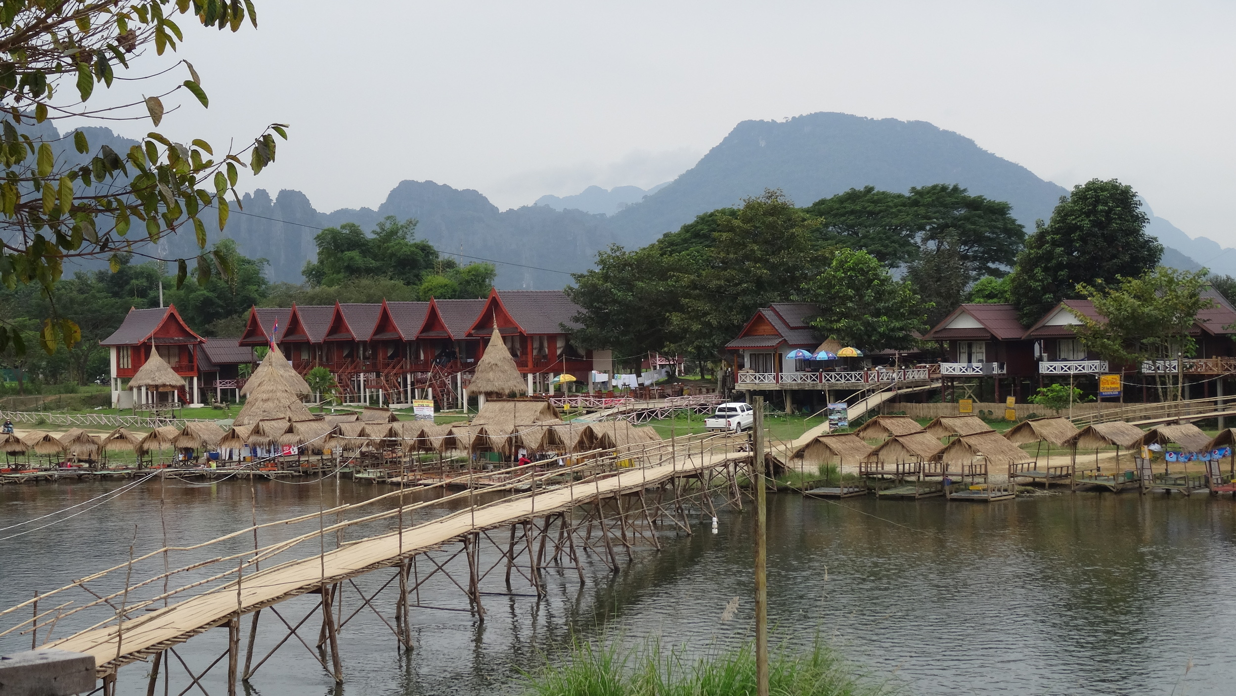 Our little place in Vang Vieng, Laos.