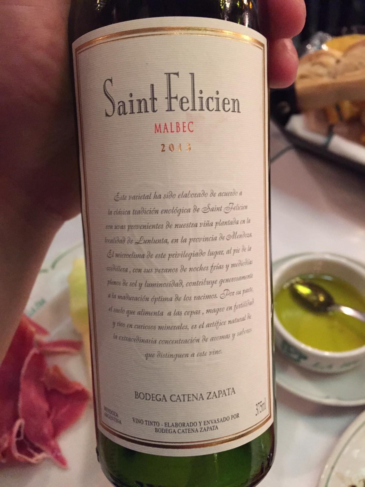 My new favorite type of wine. Malbec.