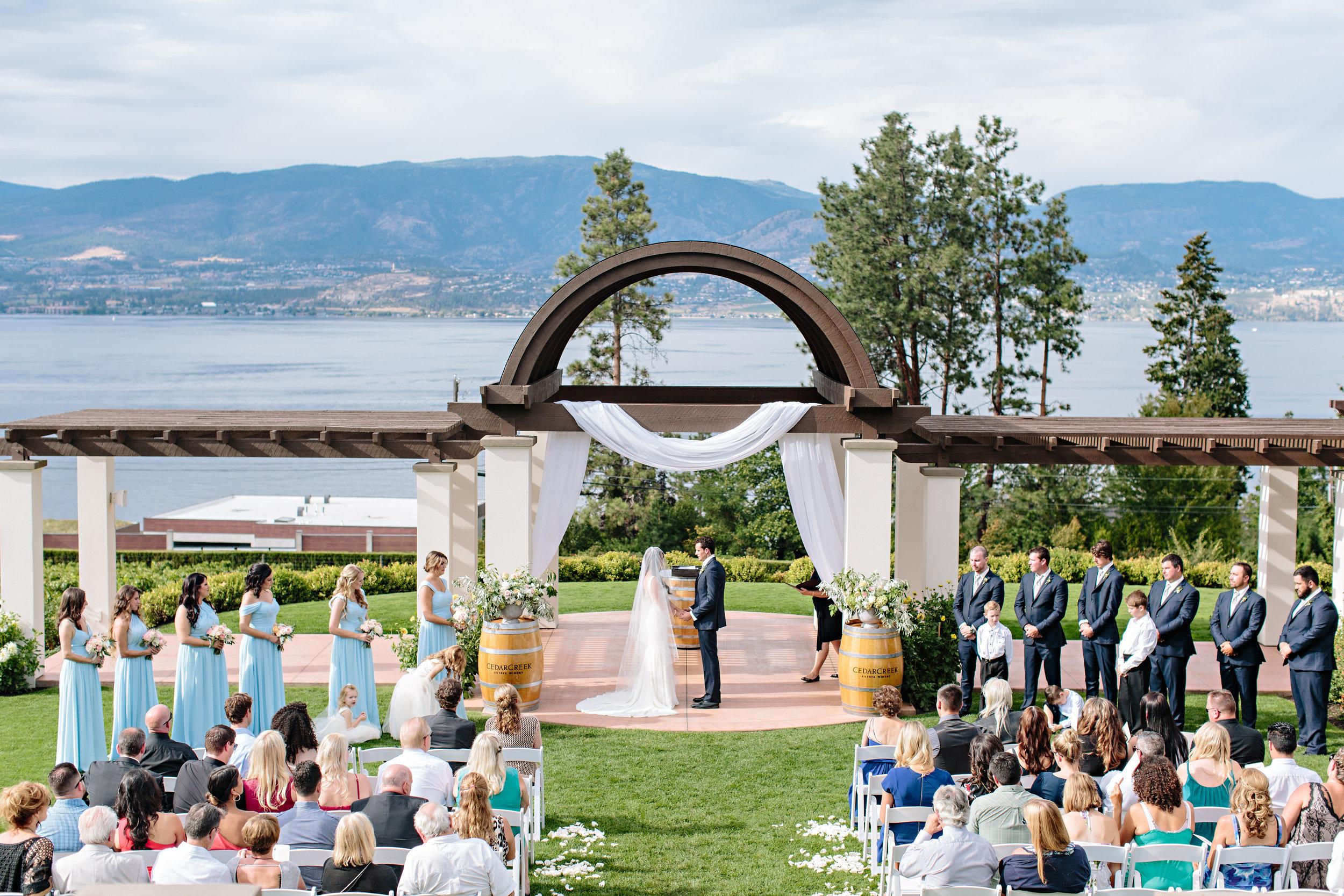 Cedar Creek Winery Wedding Flowers Florist