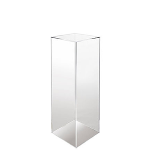 "40"" Tall CLEAR PEDASTAL - $45 Each"