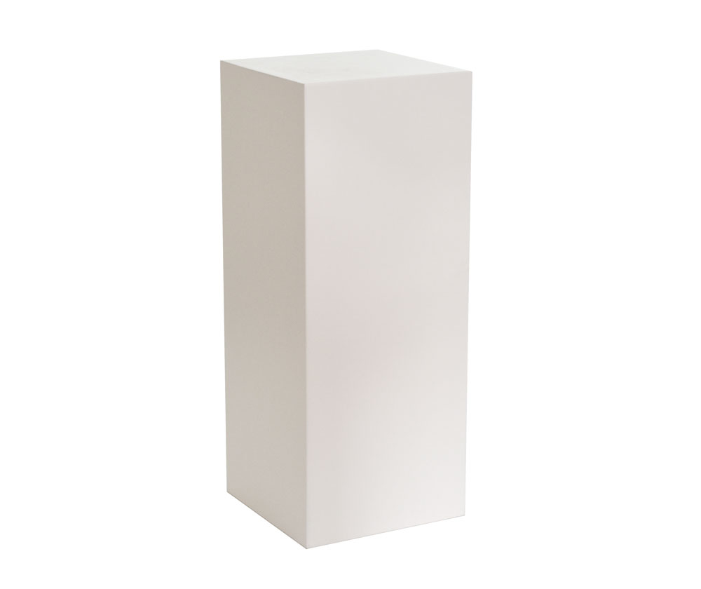 "36"" Tall White PEDESTAL - $35 Each"