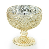 "4.5"" X 4.25"" GOLD KINGSTON VASE RENTAL - $4 EAch"