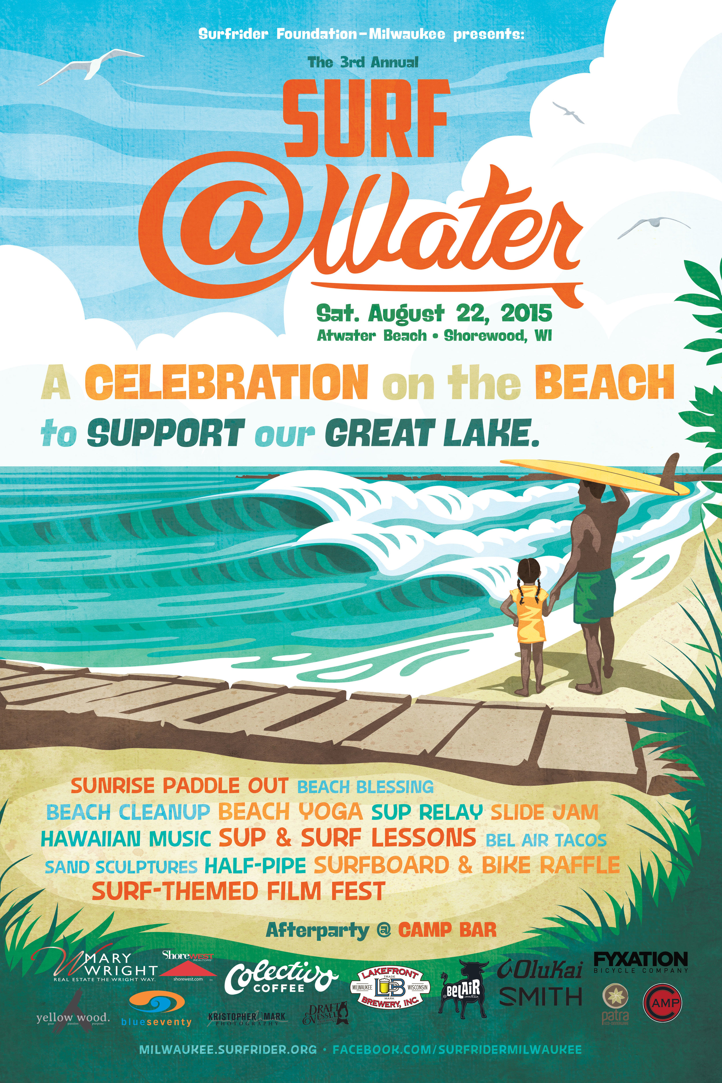 2015 Surf @Water poster by Bodin Sterba