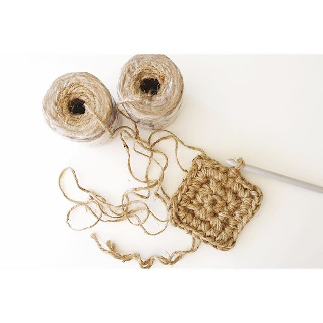Hello all!! Been awhile 😘. Trying my hand at crocheting with Jute. Not my favorite thing, but not giving up. Any hints or suggestions out there?