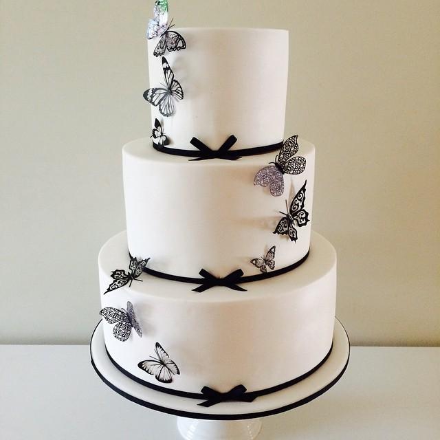 Copy of Butterfly Wedding Cake