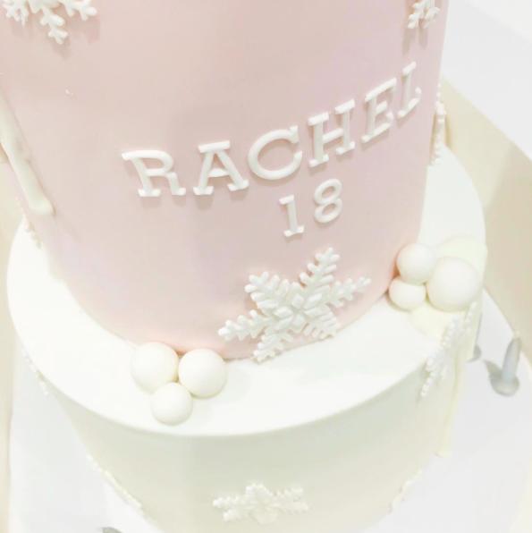 Winter Wonderland Birthday Cake