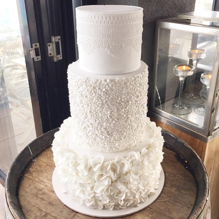 Copy of Ruffle Wedding Cake