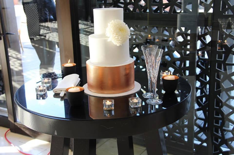 Copy of Copper Wedding Cake