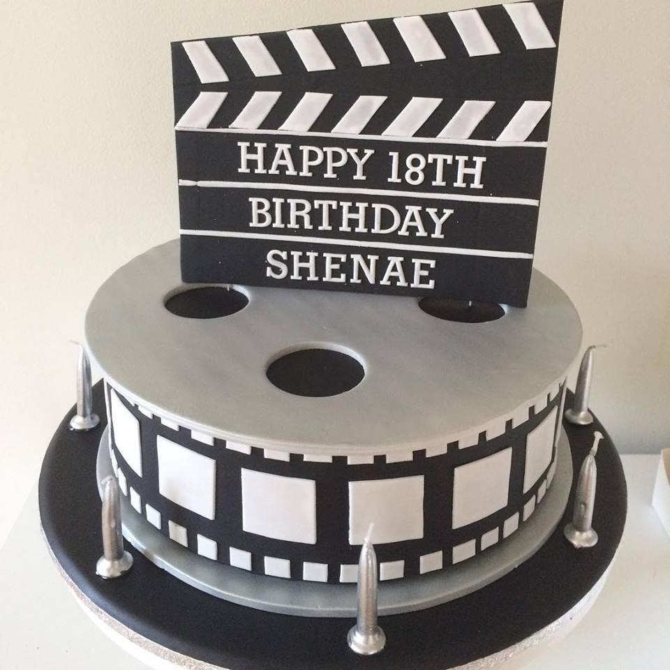 Movie Themed 18th Birthday Cake