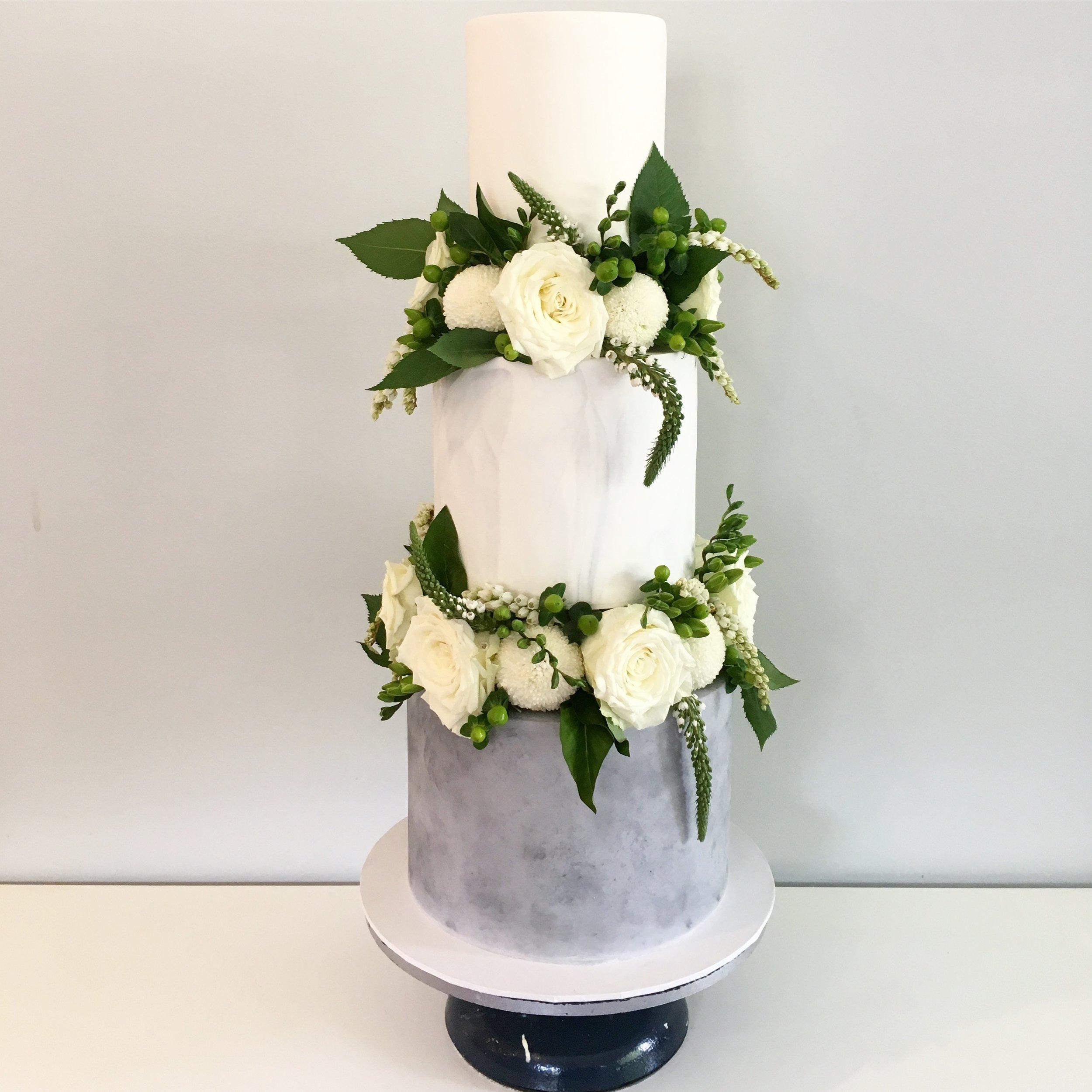 Copy of Marble & Concrete Cake
