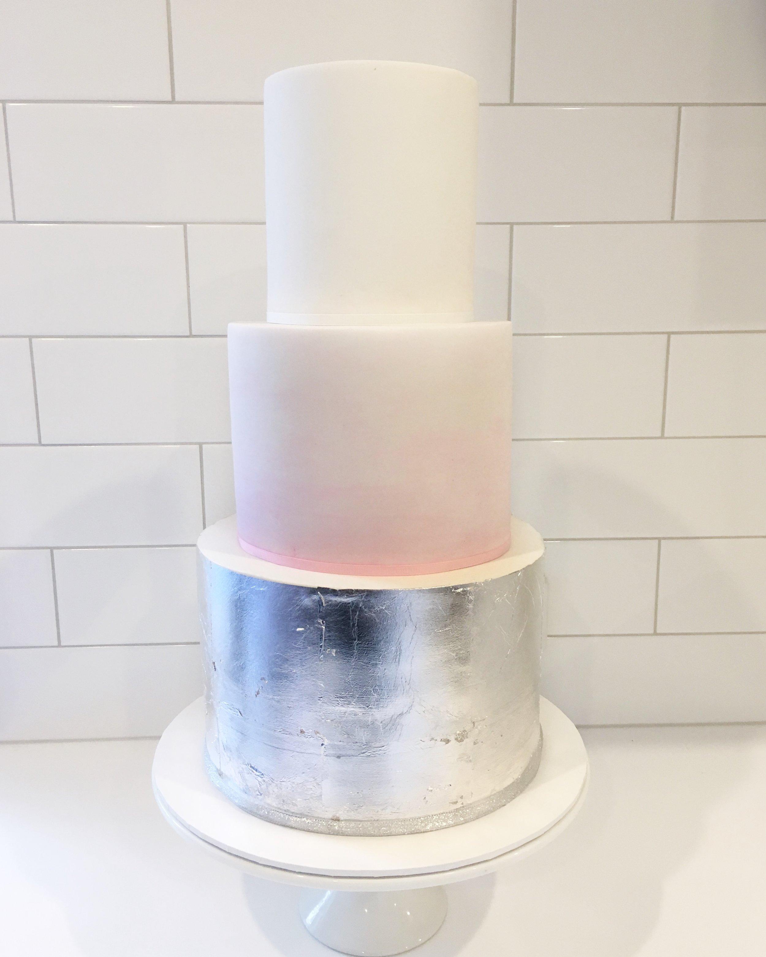 Pink Watercolour Cake