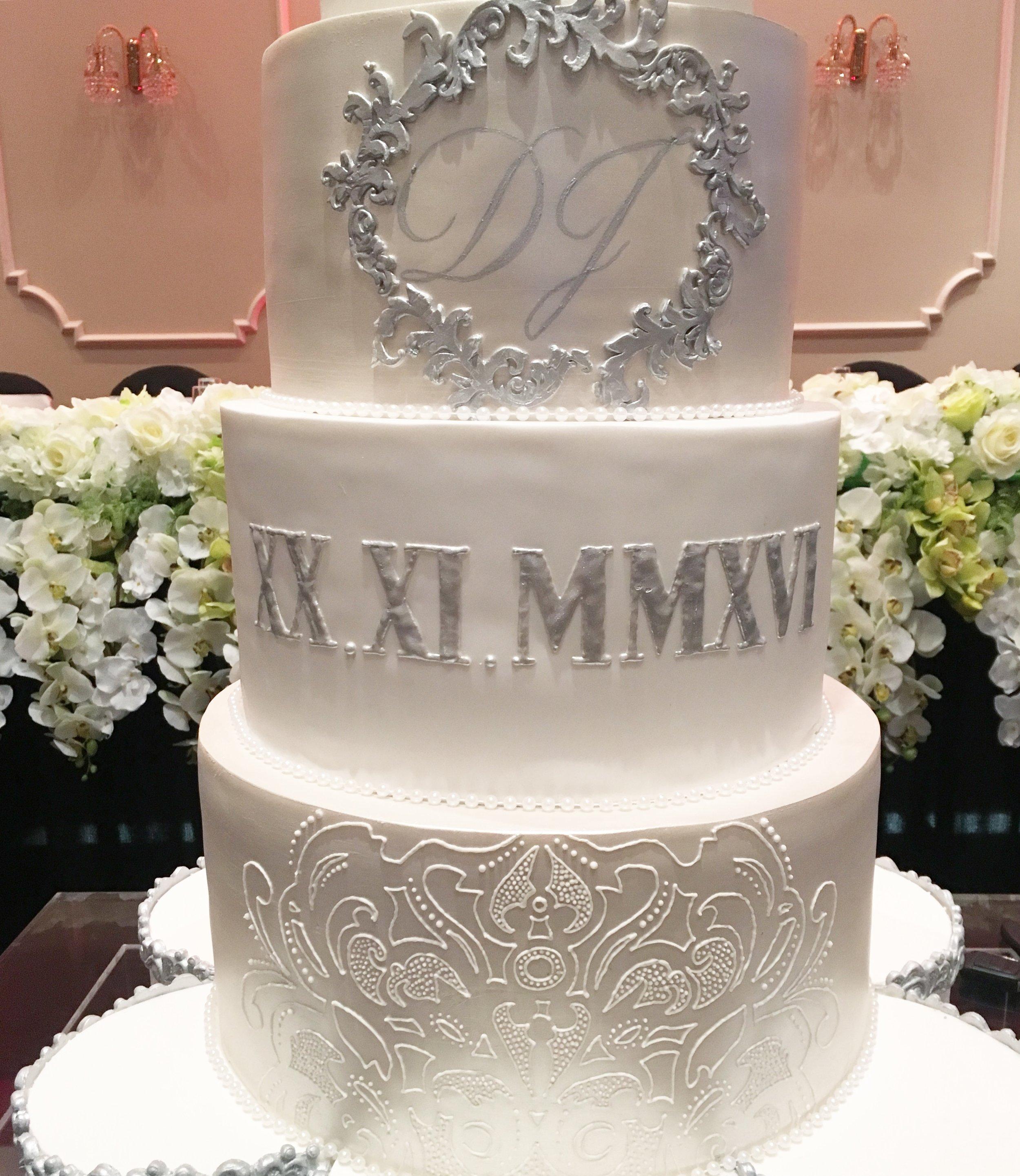 Showstopper Wedding Cake Details