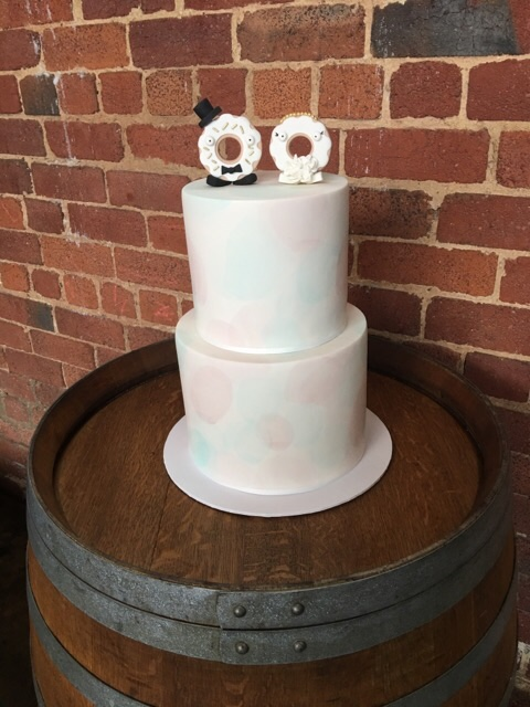 Copy of Watercolour Wedding Cake