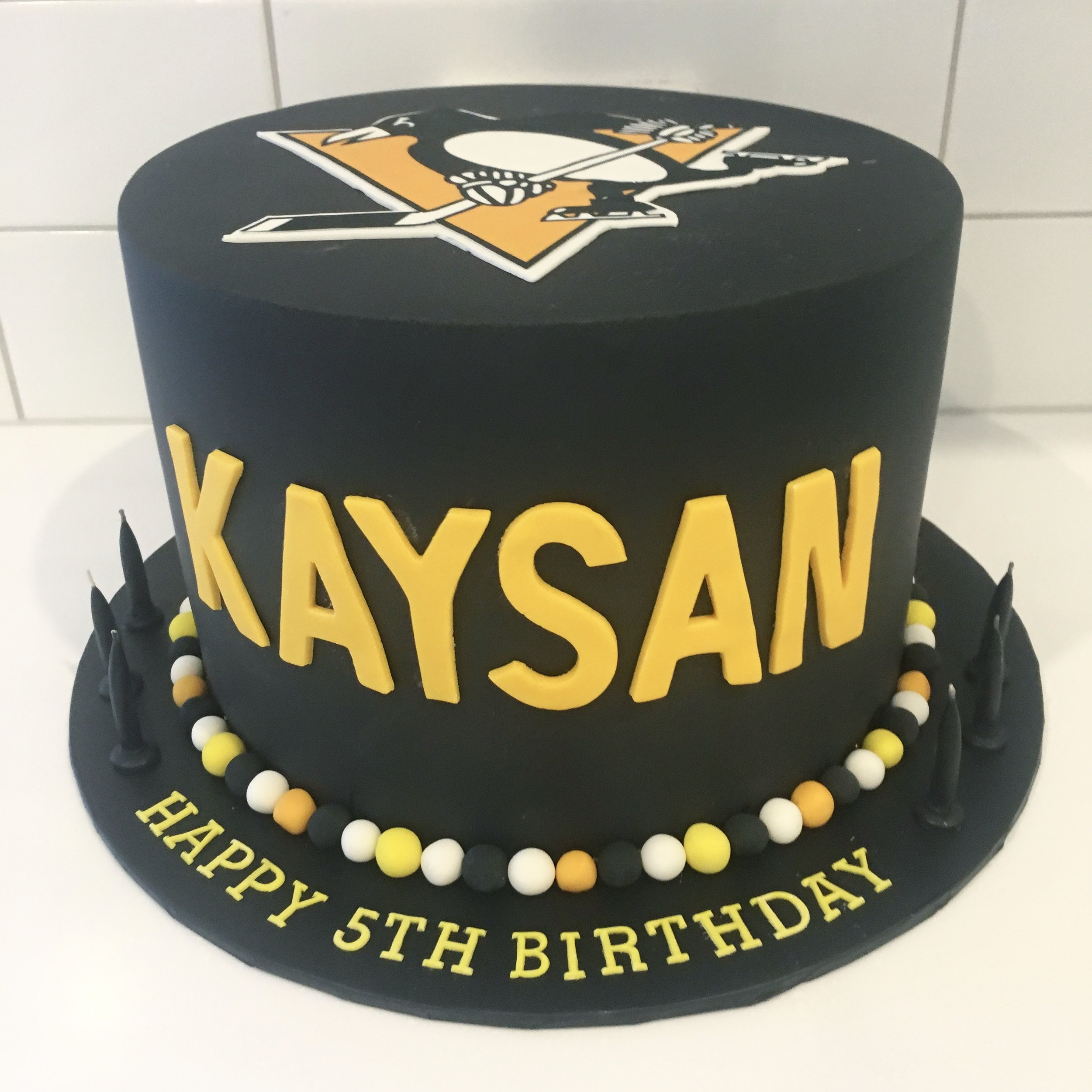 Pittsburgh Penguins Cake