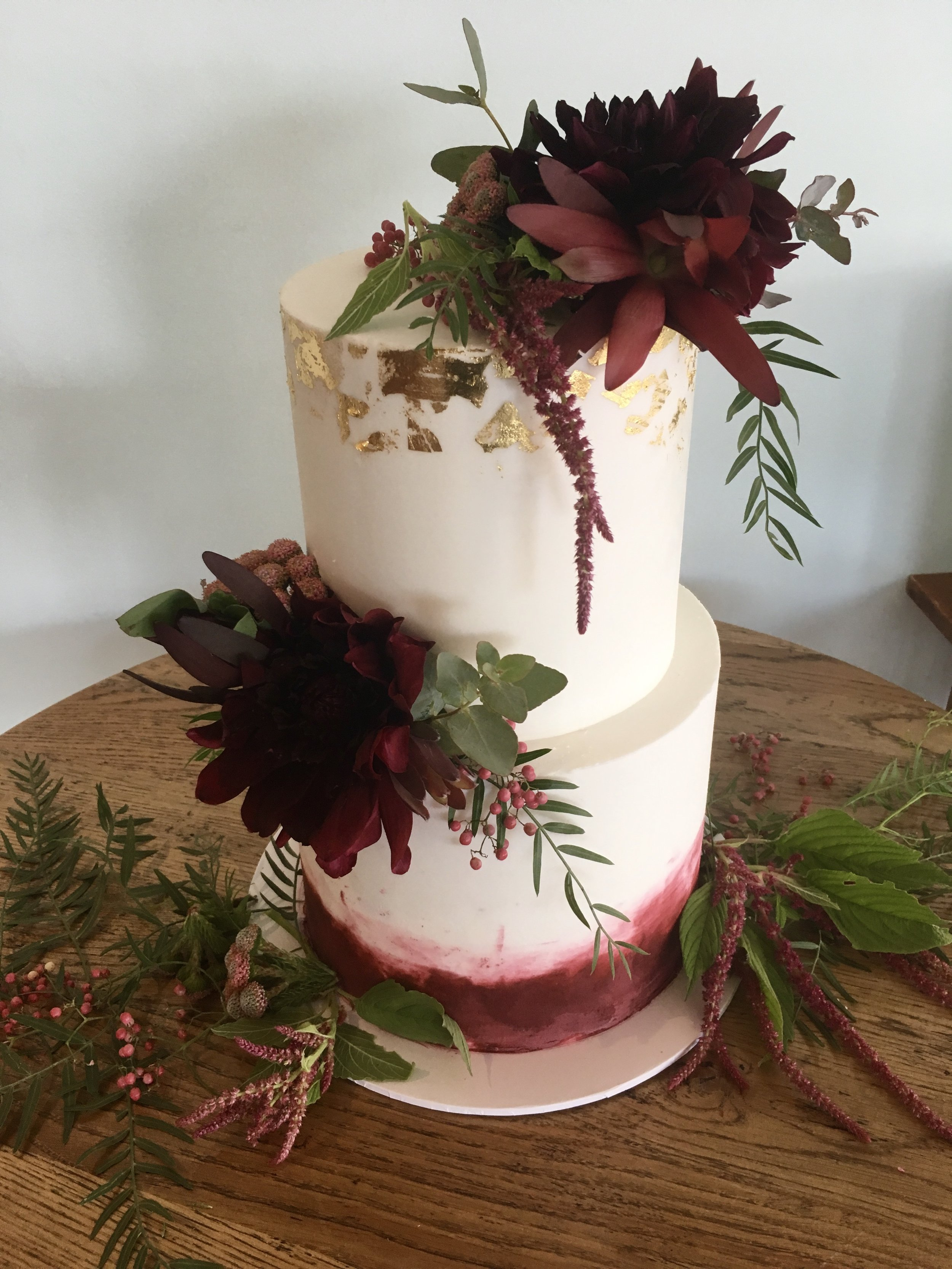 Wedding Cake with Natives