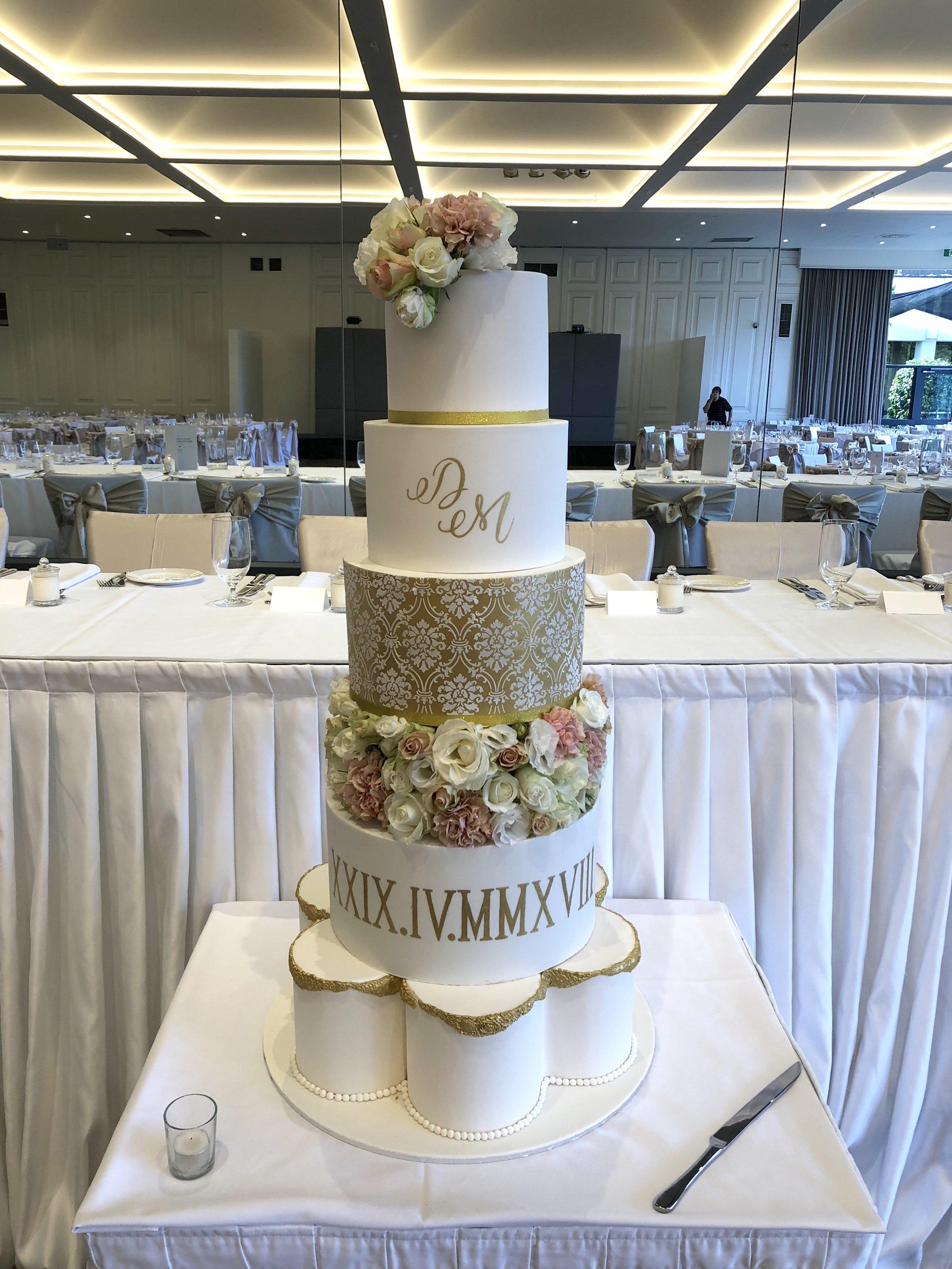 Showstopper Wedding Cake