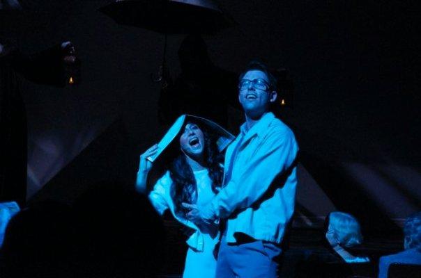 "Lomenda as ""Brad"" in The Rocky Horror Show"