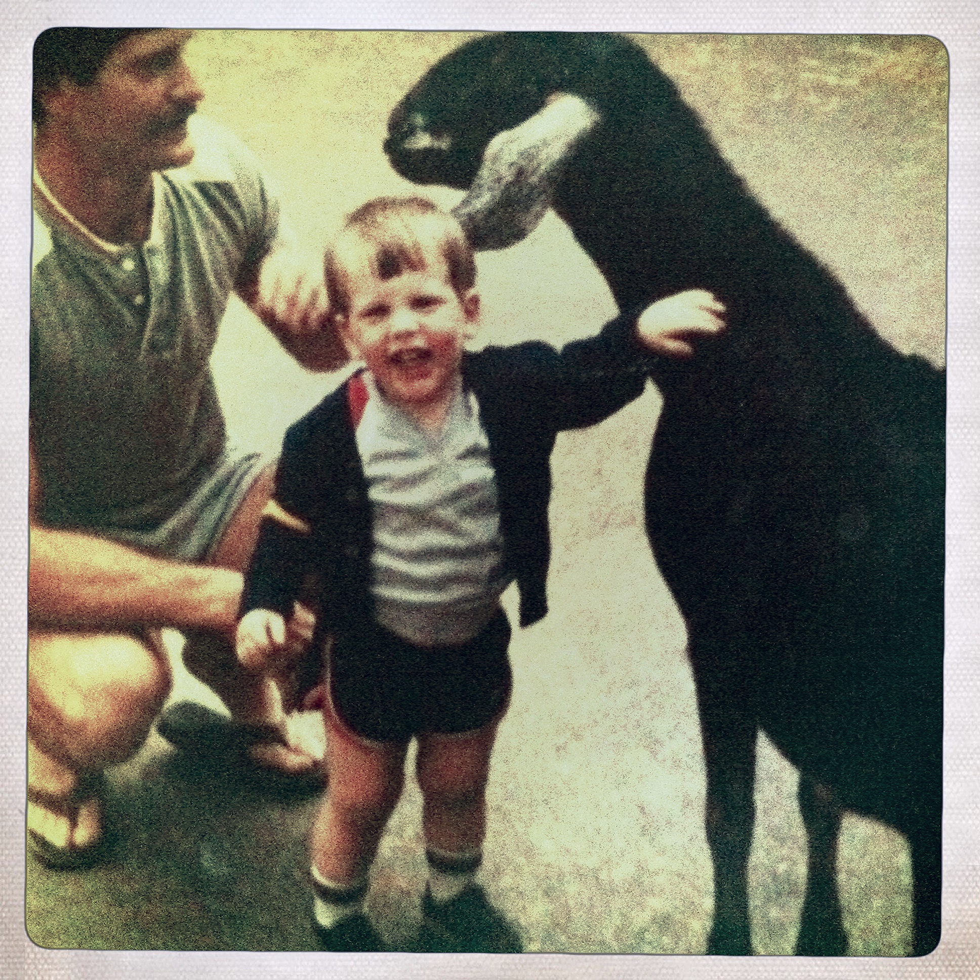 Dad and Michael circa 1982