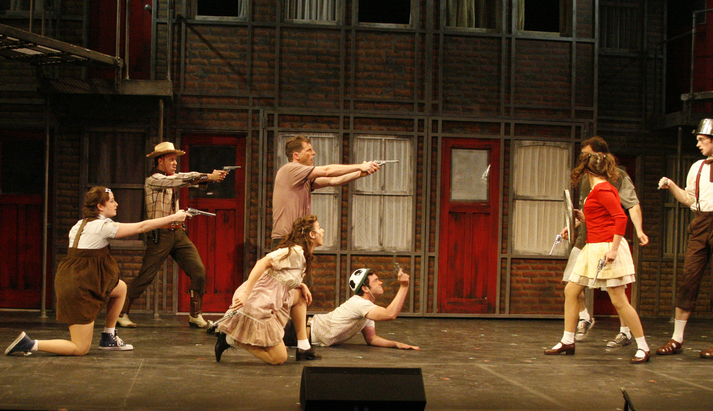 """Lomenda as """"Sammy"""" in Blood Brothers"""