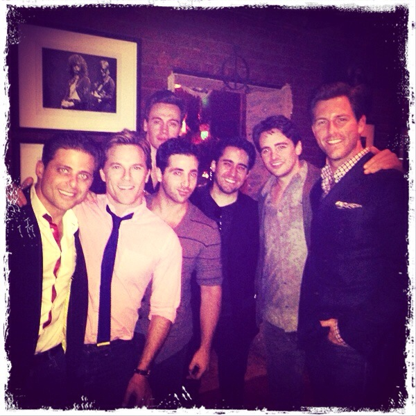 Dinner at Pace in LA with the gents of the  Jersey Boys  film