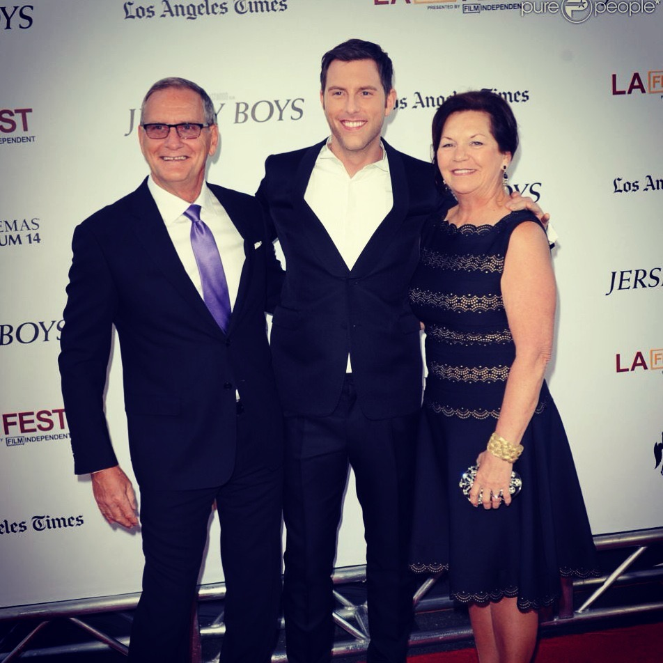 On the LA Film Festival red carpet with my folks for the premiere of  Jersey Boys
