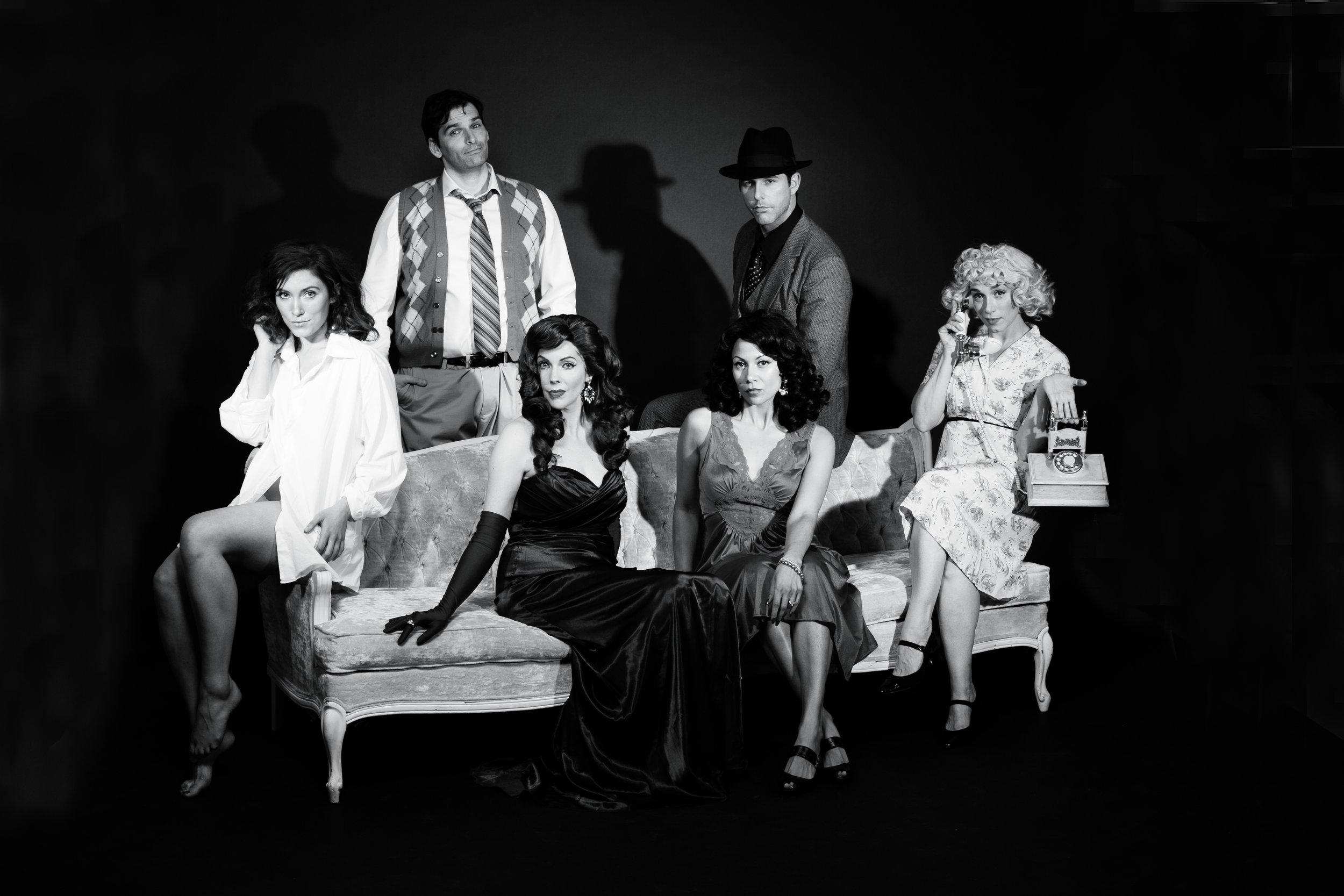 Lomenda and the cast of City of Angels