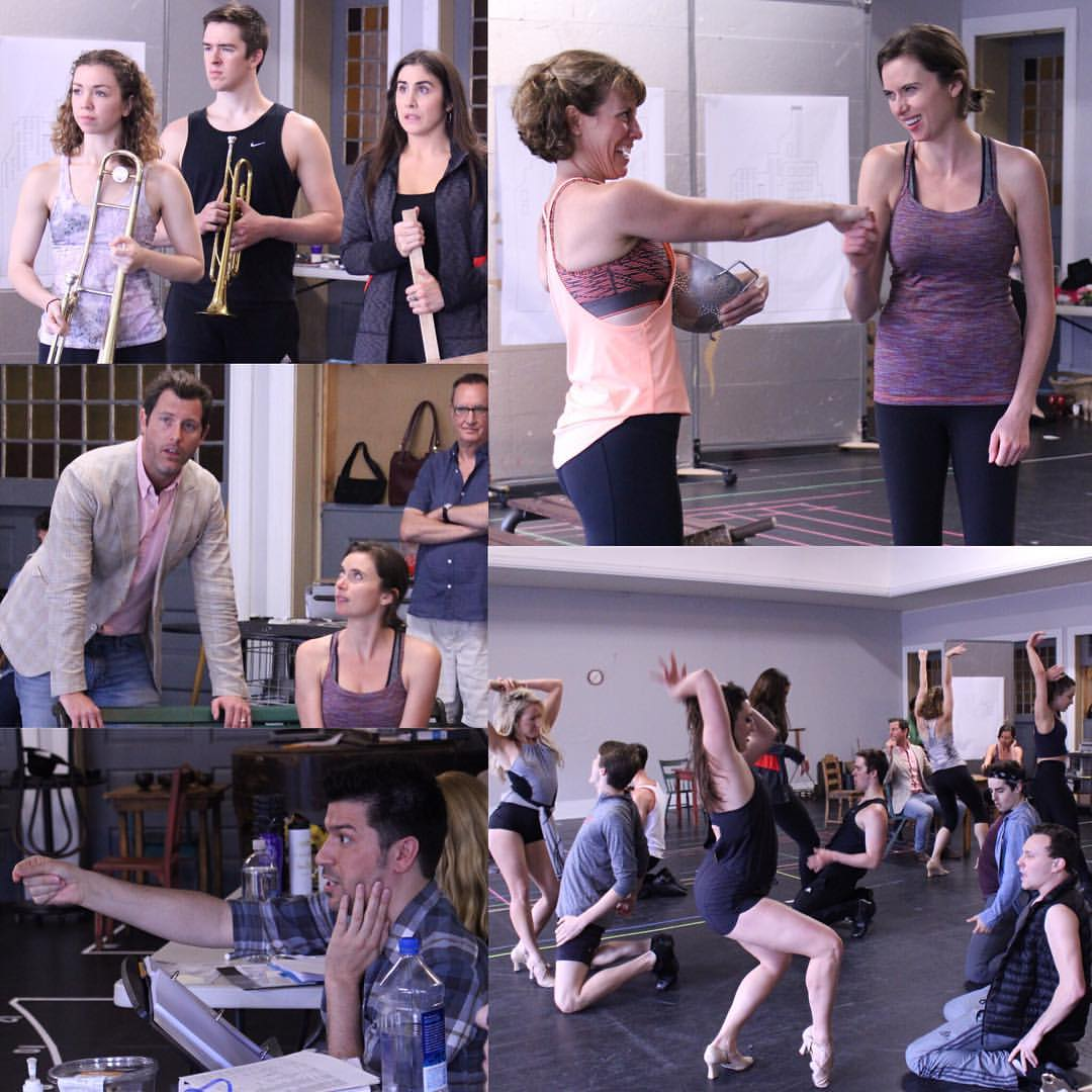 Guys and Dolls Rehearsals