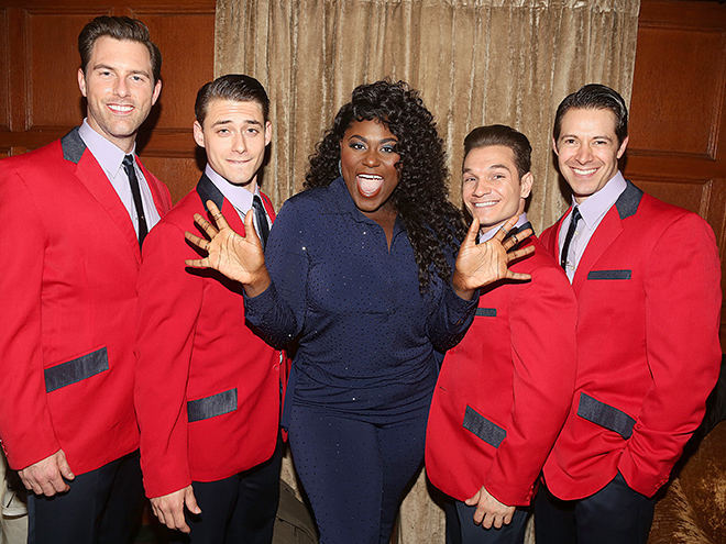 Danielle Brooks and the Jersey Boys