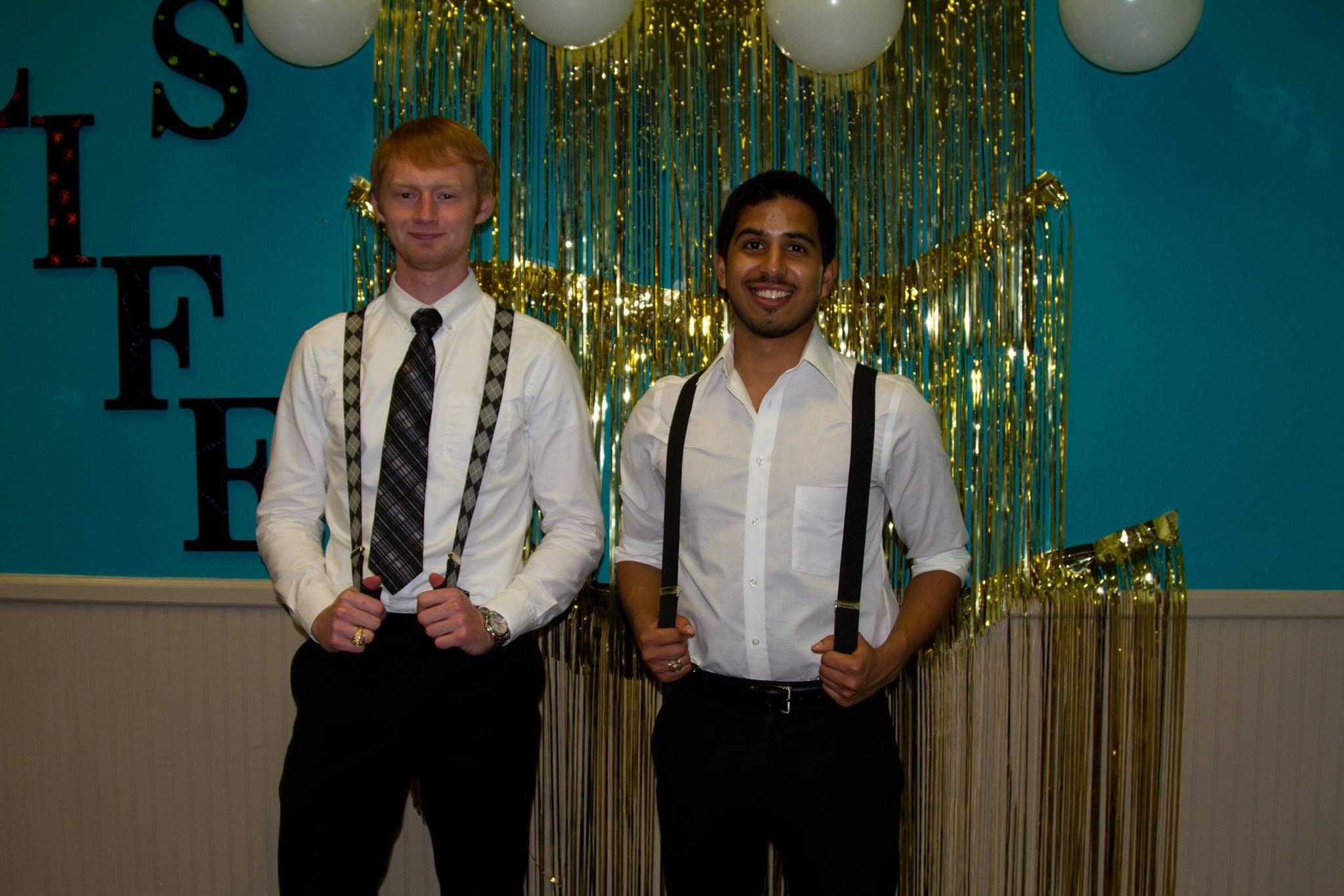 Andrew Sutter, M1 & Shiva Reddy, M1.Photo provided by Shiva Reddy.